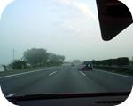 高速を順調に走る