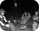 マシュマロを焼く男組