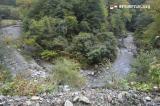 蛇行する川