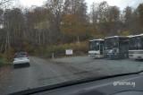 うちこちに観光バスが