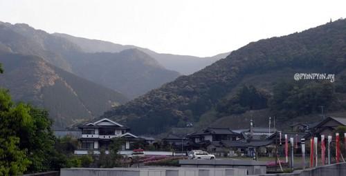 山奥にある道の駅五木