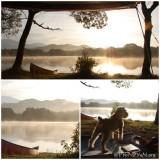 小野川湖の朝