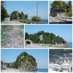 姫崎灯台へ